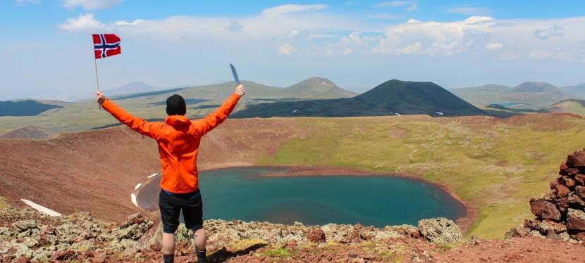 Fottur i Armenia