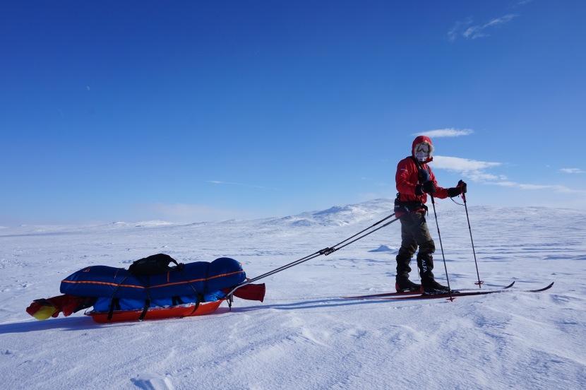 På ski overHardangervidda