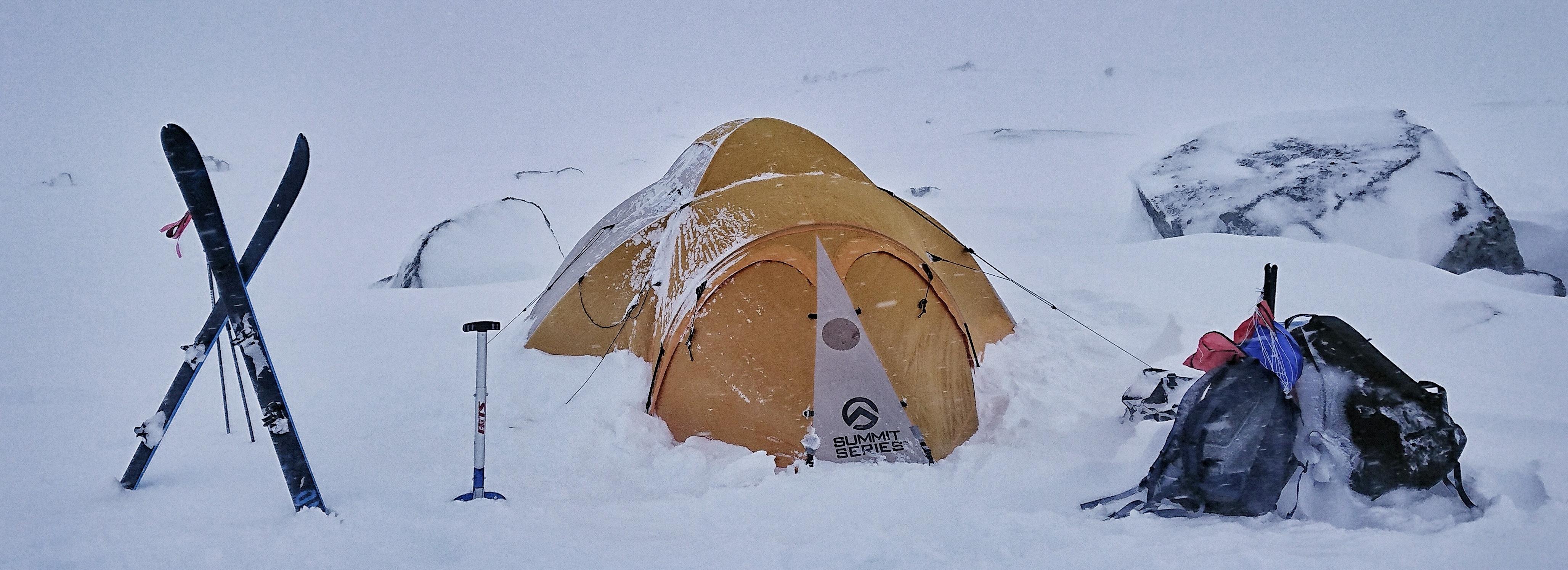 Camping Hook opp spenning